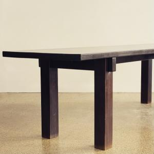 GALERIE DESPREZ BREHERET CHAIRS PERRIAND BRESIL TABLE