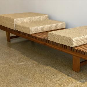 GALERIE DESPREZ BREHERET CHARLOTTE PERRIAND BENCH
