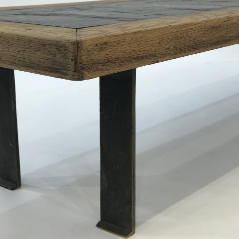 table ardoise 180 helene breheret benjamin desprez. Black Bedroom Furniture Sets. Home Design Ideas